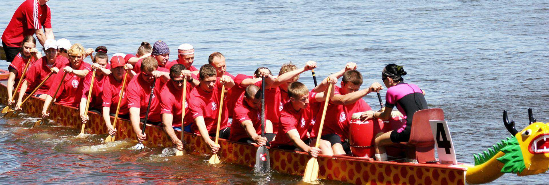 British dragon boating team allergies and steroids