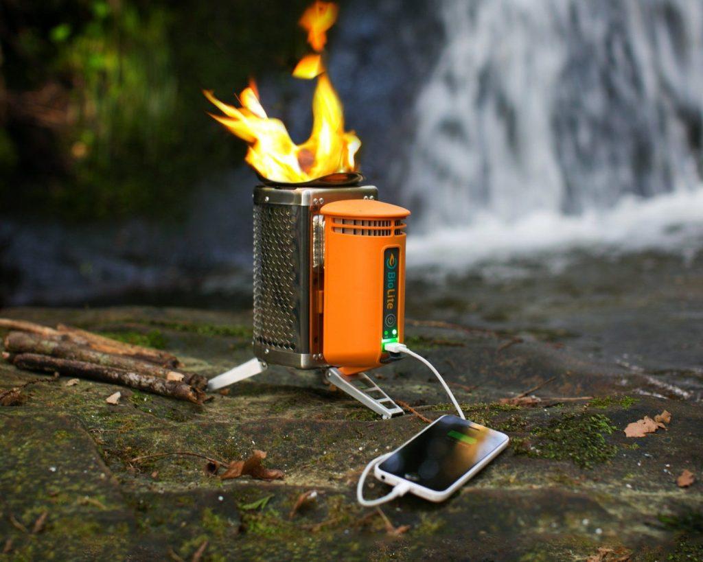 The BioLite Wood Burning Campstove